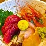 観音食堂 - 950円『刺身定食』2016年1月吉日