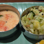ケララの風II - トマトのカーランとキャベツのトーレン