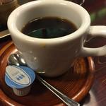 46346326 - コーヒー                       美味しかったけど、もっと熱ければ。