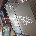 トムズカフェ - サイン