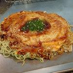 ひら山 - 肉玉そば(700円)