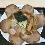 青山製麺 - 焼きアゴ醤油ちゃーしゅう麺