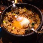 肉の入江 - 石焼ビビンバ