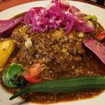 ヒトエ ナトゥーラ - 鹿肉とチーズのベジタブルカレー(ランチ)