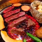 肉の入江 - ランプステーキ