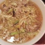 東幸飯店 - ザーサイ肉そば(772円)