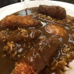 Daru - 牡蠣フライカレー、卵、辛さはマイルド