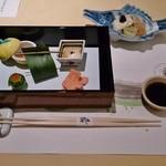 レストラン 七海 - 料理写真:先付・前菜(海風土会席)