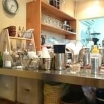 コーヒーマーケット - 厨房