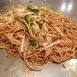 ぐるま亭 - 焼きそば(野菜)