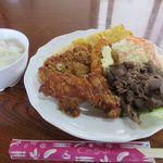 味処まるなが - まるなが定食(¥850)