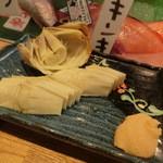 46354493 - 竹の子焼き