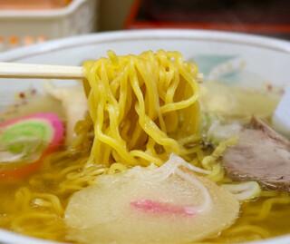 ラーメン信月 - 麺リフト