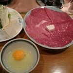 レストランちんや亭 - すき焼き