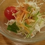 レストランちんや亭 - ランチのサラダ