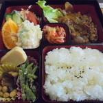ぱぴよん - 料理写真:日替わり弁当