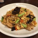 健康中華 青蓮 - 豚肉と木耳の玉子炒め