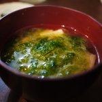 はいさい - 味噌汁(2010年7月)
