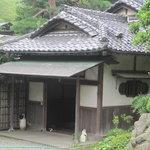 京亭 - 玄関です