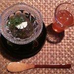 ビーマーリン - ランチコースの食前酒
