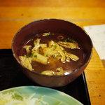 寅 - 味噌汁(2010年7月)
