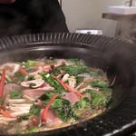 更科藤井 - 鴨鍋