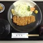 ヘルシーポークみつい - 料理写真:とんかつ定食