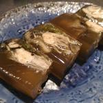 麦酒庵 - 牡蠣の煮こごり