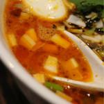らーめんサッポロ 赤星 - スープ
