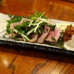 居酒屋 ごいち - 牛肉の藁たたき