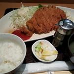 二兎 - 料理写真:名代乃ぼるとんかつ