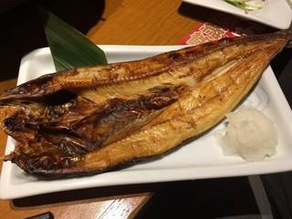 魚民 - 魚民のホッケ。昔ながらのサイズ感がなんとも嬉しくなります(*´-`*)
