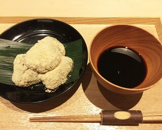 茶洒 金田中 - わらびもち