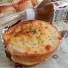 PAIN DE NOS REVES - 料理写真:ジャガイモとハムの入ったクロックムッシュ