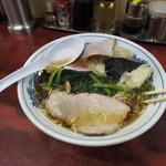 白河中華そば - 中華雲吞麺、チャーシューの下