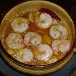 ソル - プリプリえびのピリ辛オイル焼き 900円