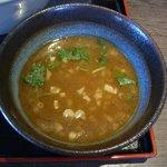 ラーメンにっこうact2 - スープ割り(つけ麺)