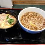 小諸そば - カツ丼セット(600円)