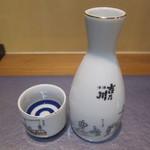鰻 むさし乃 - 吉乃川厳選辛口(一合):670円(税込)