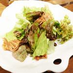 アジアン麺茶 - ちょっとしたサラダですp(^_^)q