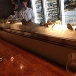 46371163 - カウンター、牡蠣のディスプレー