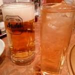 大将軍 - ビールとジンジャーエール