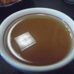 鳥おか - ソバ湯も、美味しかった。