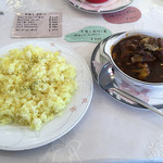 シチューの店 花きゃべつ - 料理写真:牛テールカレー