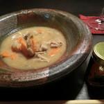 Kingyo - 国産豚餅を更に圧力鍋で柔らかく仕上げたもつ煮込み 580円