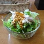 天鳳 - 棒棒鶏サラダ