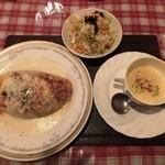 レストラン とまと - 和風のオムライス