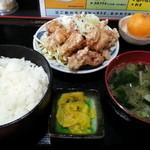鳥みつ - Cランチ唐揚げ 530円