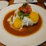"THE PINEAPPLE ROOM - 料理写真:「The ""LOCO MOCO(ロコモコ)」$21.50"
