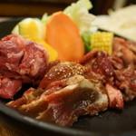 麦羊亭 - 4種ジンギスカン